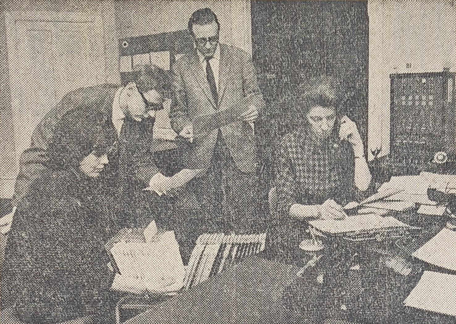 Aktivitet i Vagtformidlingen anno 1964